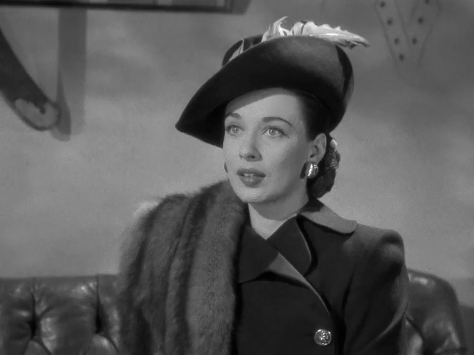 Patricia Morison dans Dressed to kill (1946)