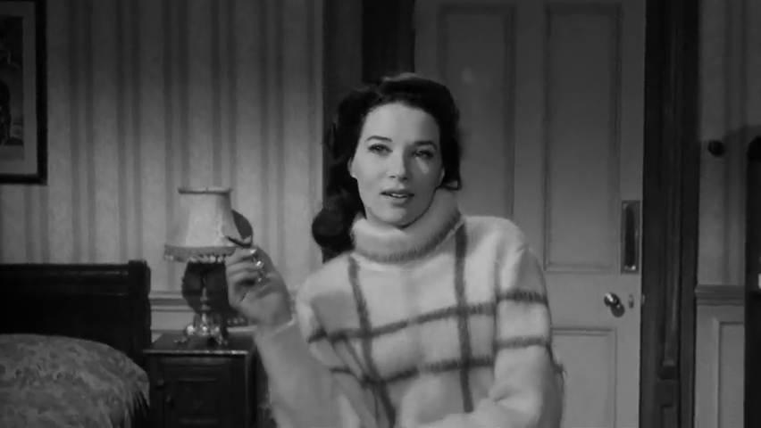 Katya Douglas est Rosamund Shane dans le film Murder at the Gallop (Meurtre au galop, 1963) de George Pollock