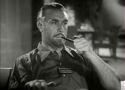 Victor Francen dans L'homme du Niger (1940) de Jacques de Baroncelli