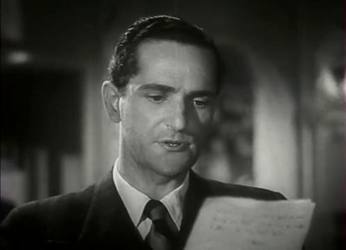 L'acteur Jacques Dumesnil dans le film L'homme du Niger (1940) de Jacques de Baroncelli