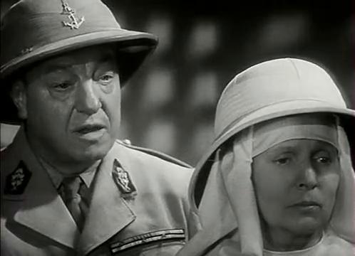 Harry Baur et Blanche Denège dans L'homme du Niger (1940) de Jacques de Baroncelli