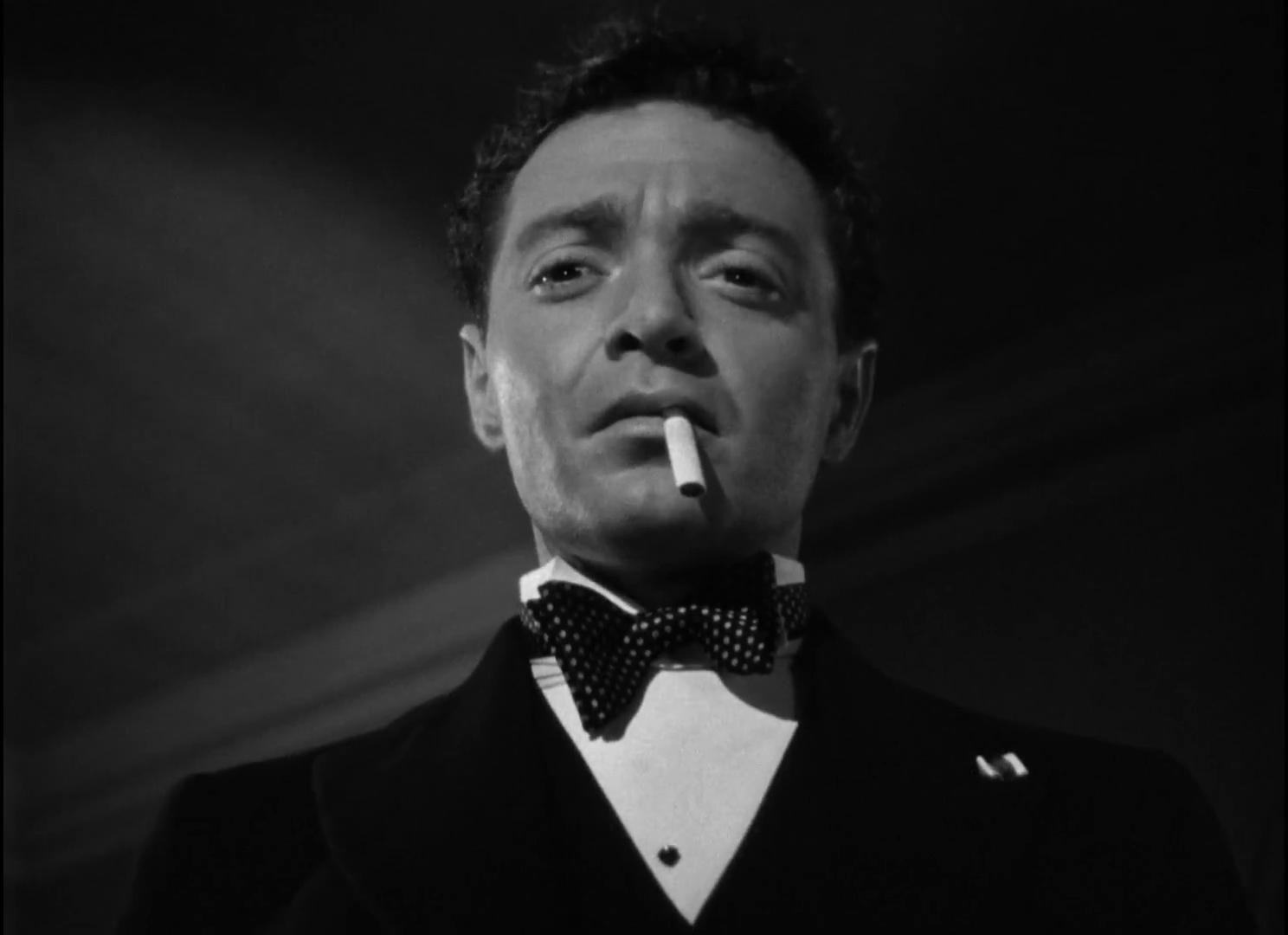 Peter Lorre dans The maltese falcon  (Le faucon maltais, 1941) de John Huston