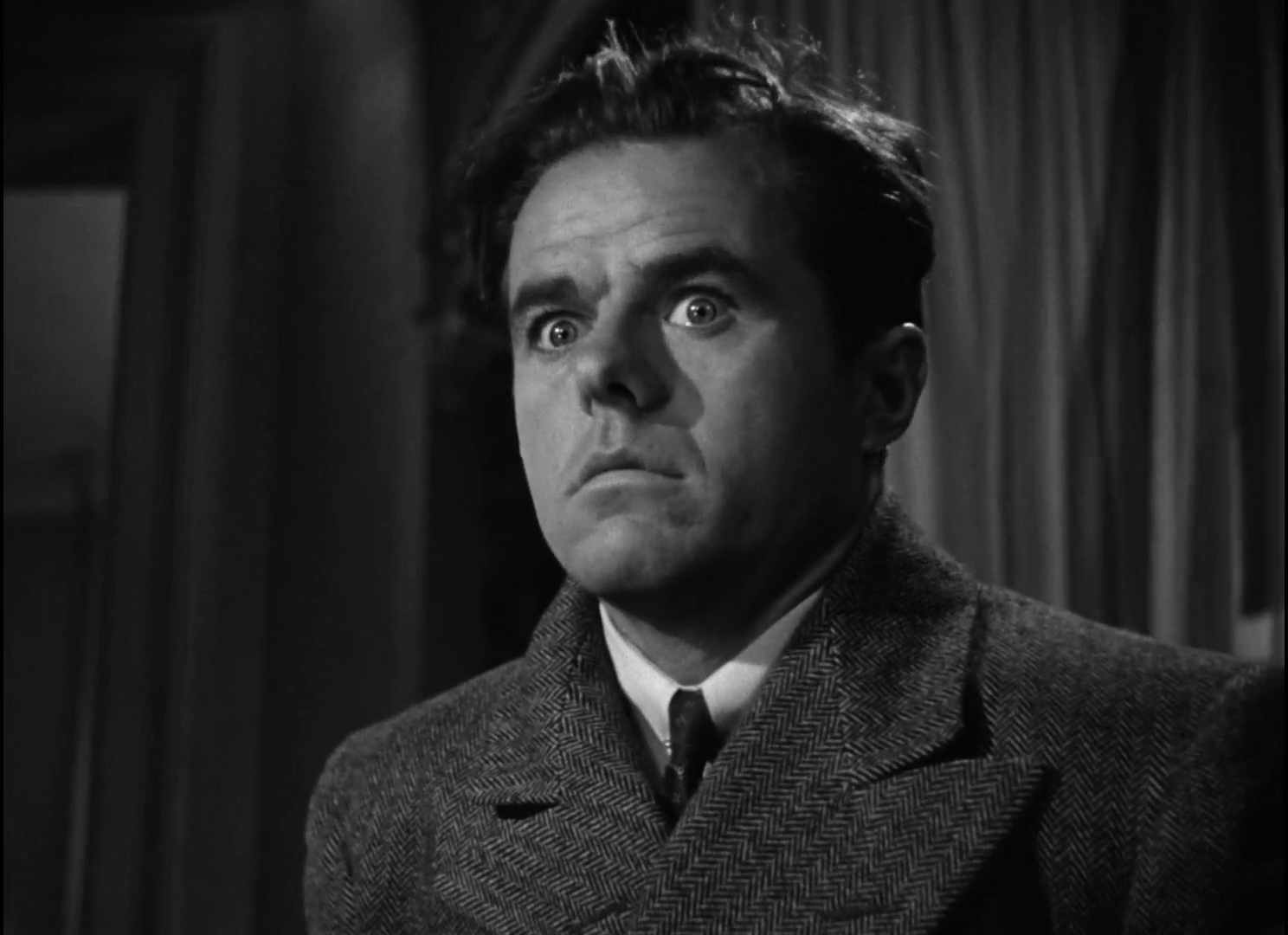 Elisha Cook Jr dans The maltese falcon  (Le faucon maltais, 1941) de John Huston