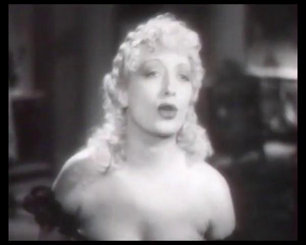 L'actrice Suzy Prim dans le film Le patriote (1938) de Maurice Tourneur