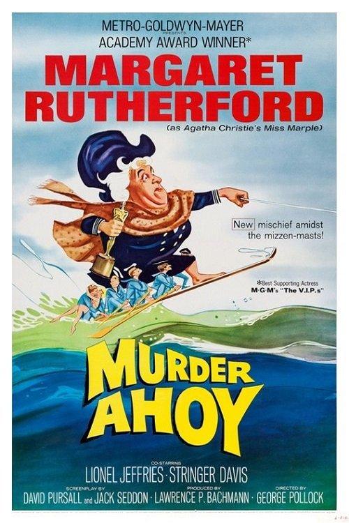 Affiche du film Murder ahoy (Passage à tabac, 1964) de George Pollock
