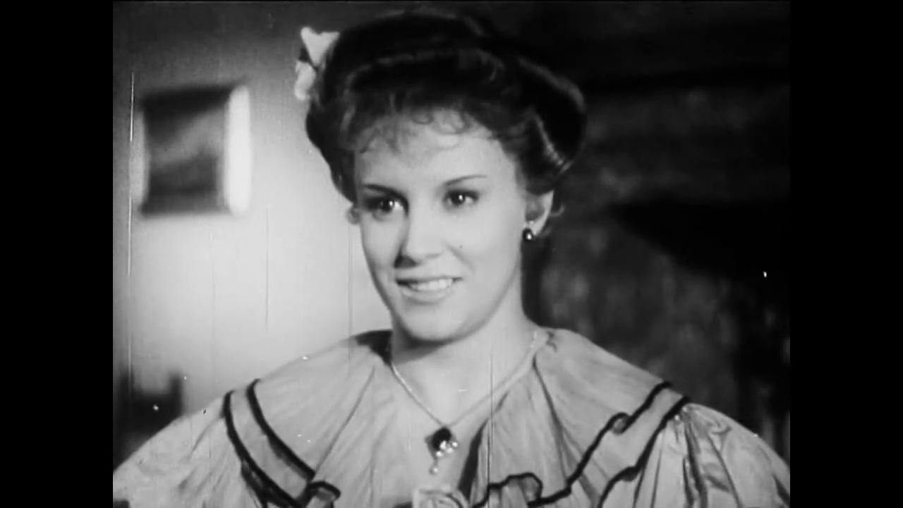 Maria Mercader dans le film italien Cuore (Les belles années, 1948) de Duilio Coletti