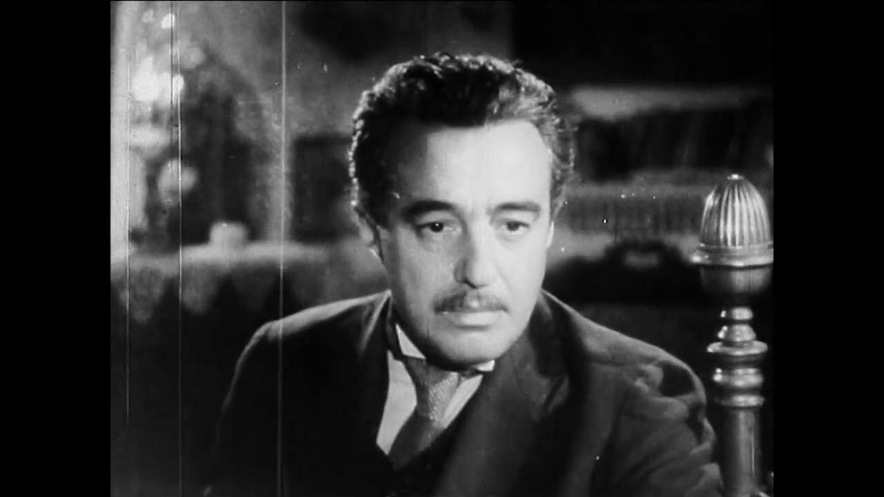Vittorio de Sica est l'instituteur Edmondo Perboni dans le film italien Cuore (Les belles années, 1948) de Duilio Coletti