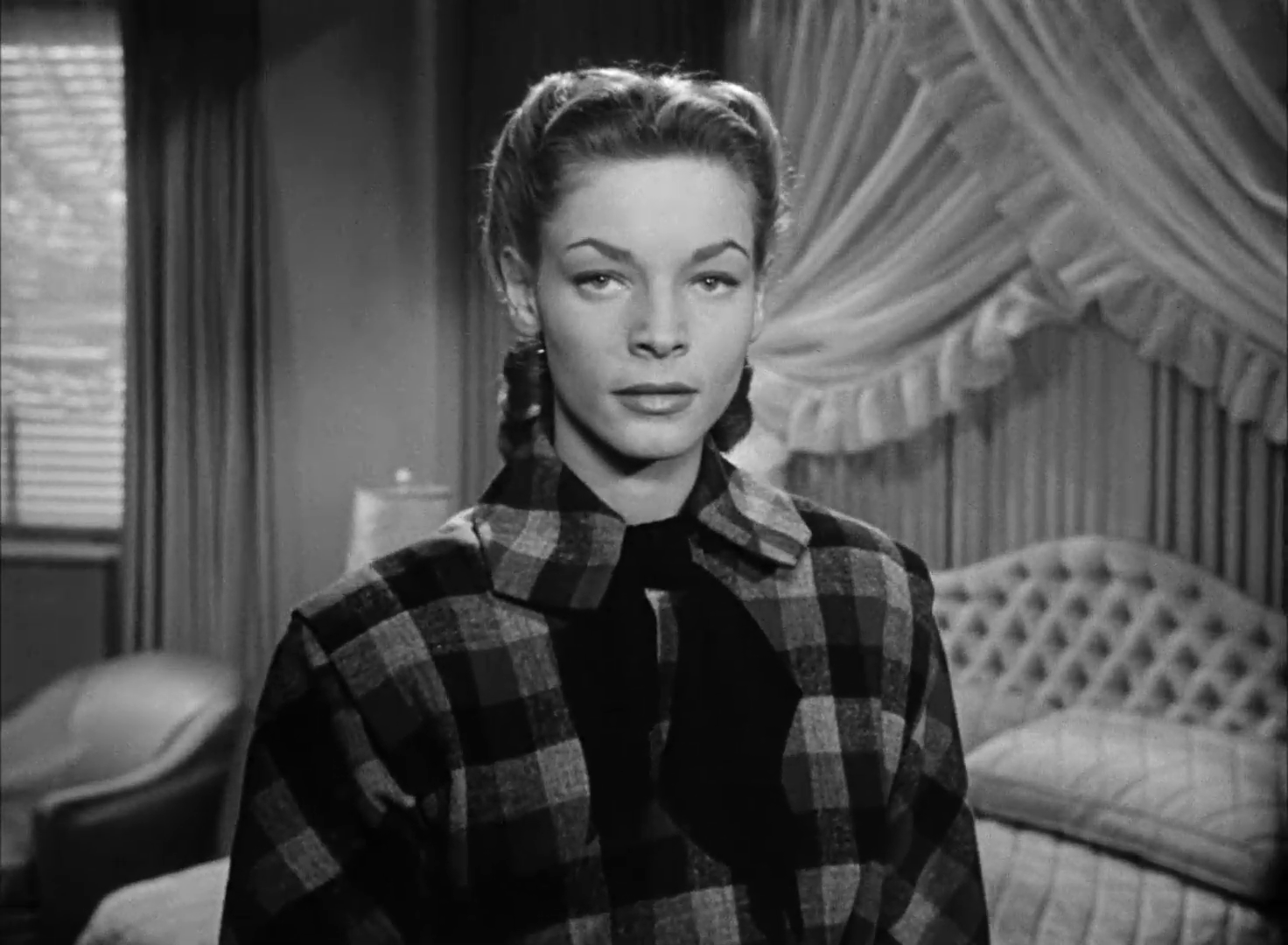 Lauren Bacall dans le film Dark passage (Les passagers de la nuit, 1947) de Delmer Daves