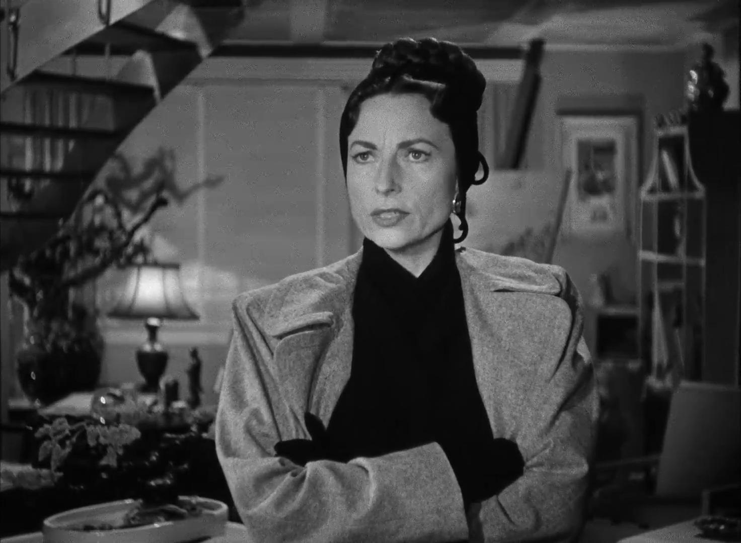 Agnes Moorehead dans Dark passage (Les passagers de la nuit, 1947) de Delmer Daves