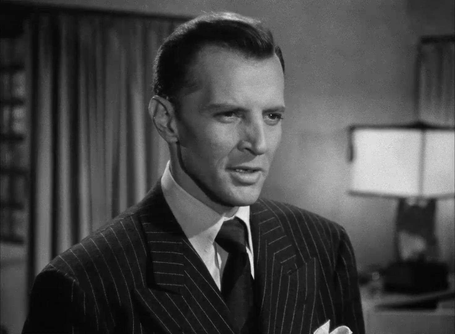 Bruce Bennett dans le film noir Dark passage (Les passagers de la nuit, 1947) de Delmer Daves