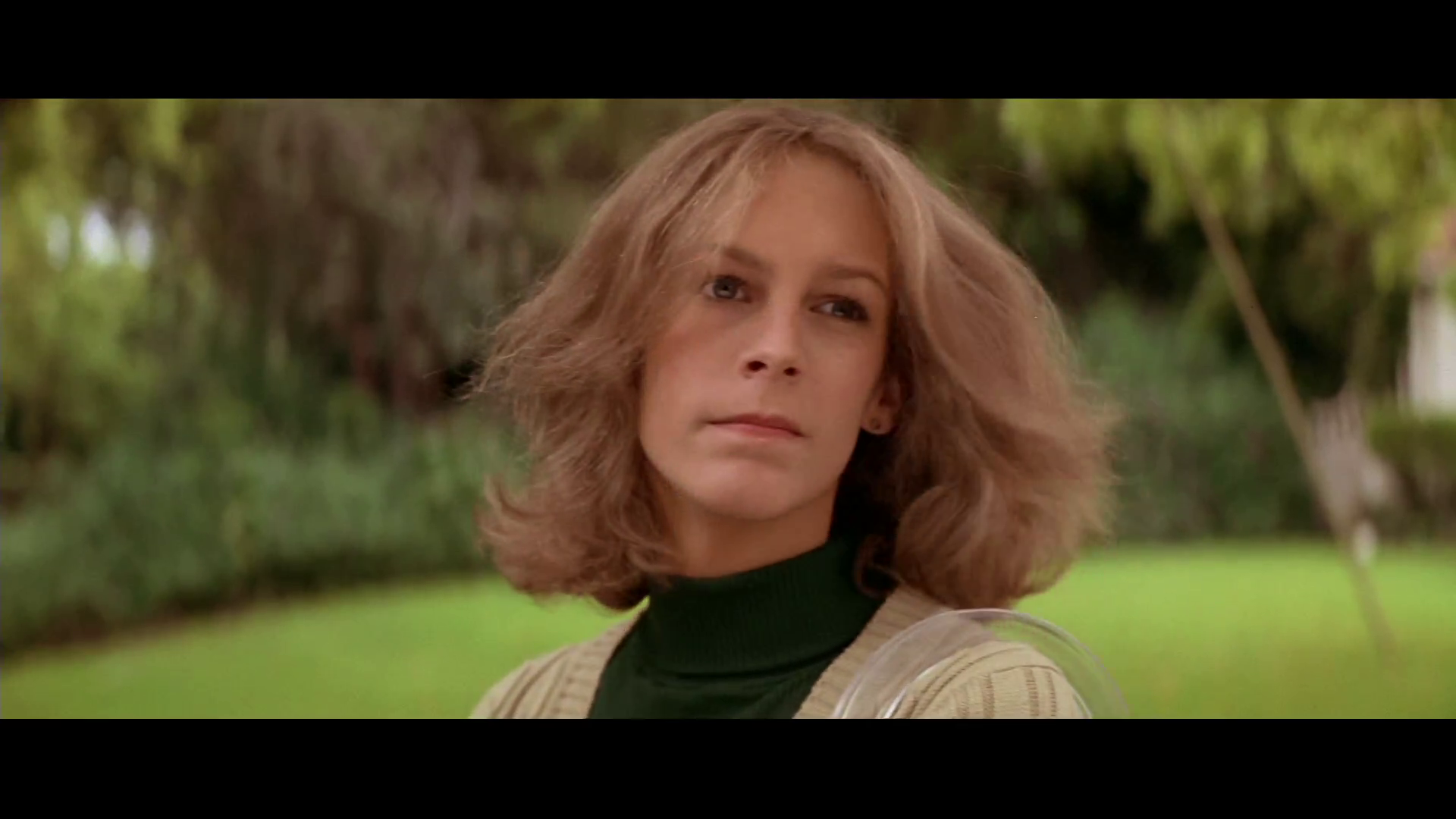 Jamie Lee Curtis dans le film Halloween (La nuit des masques, 1978) de John Carpenter