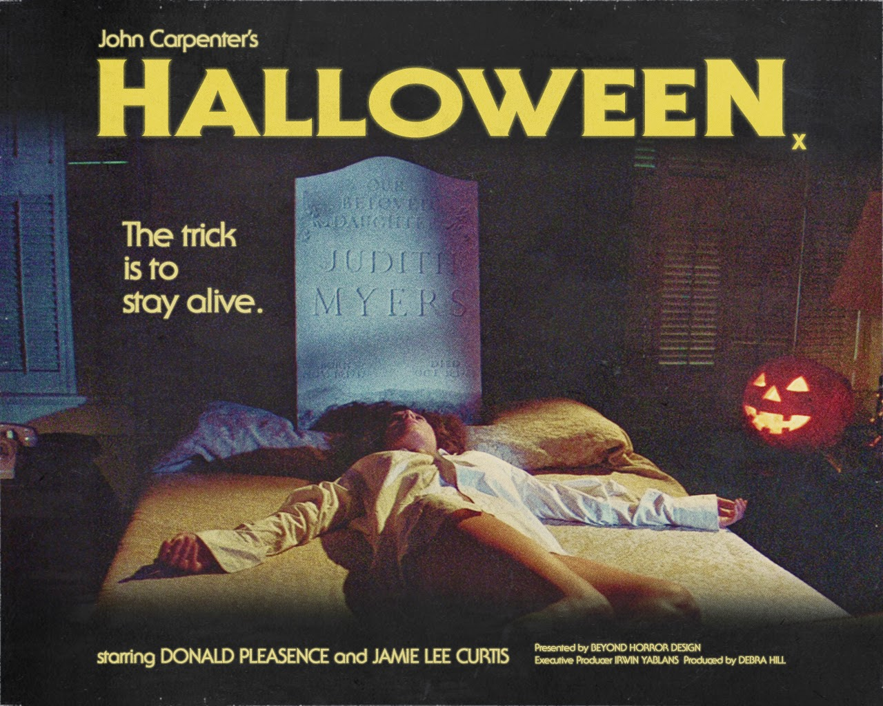 Affiche du film Halloween (La nuit des masques, 1978) de John Carpenter