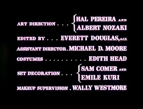 Générique du film The war of the worlds (La guerre des mondes, 1953) de Byron Haskin