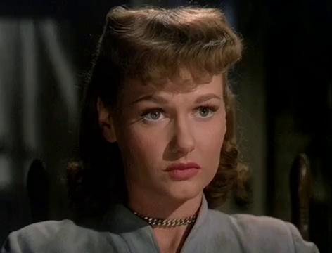 L'actrice Ann Robinson dans le film The war of the worlds (La guerre des mondes, 1953) de Byron Haskin