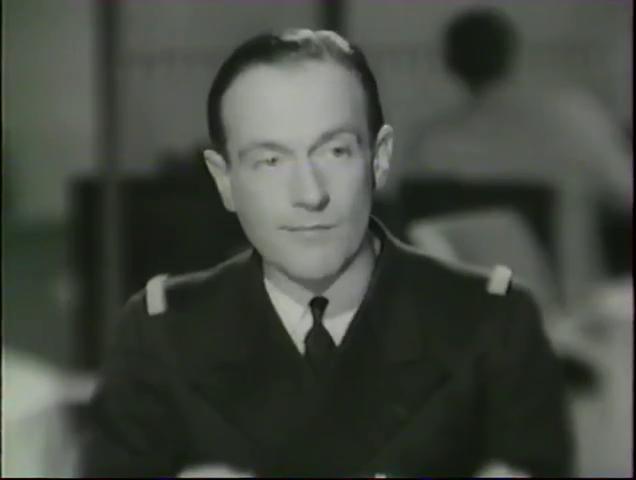 Pierre Fresnay dans Alerte en Méditerranée (1938) de Léo Joannon