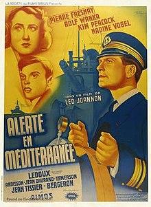 Affiche du film Alerte en Méditerranée (1938) de Léo Joannon
