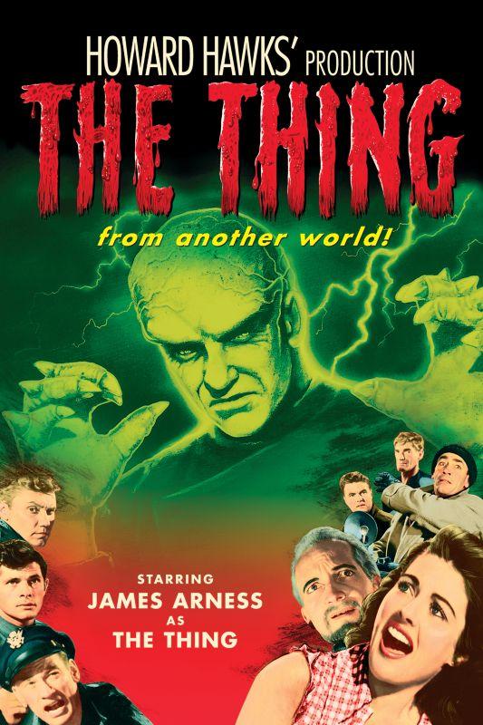 Affiche du film The thing from another world (La chose d'un autre monde, 1951) de Christian Nyby