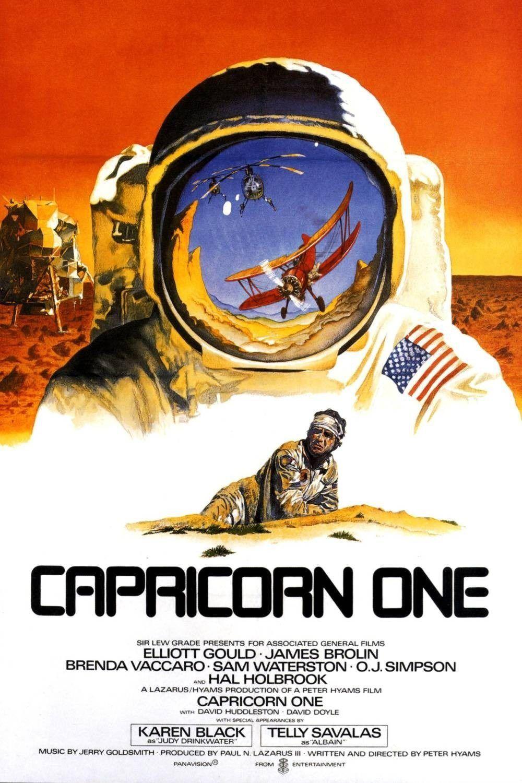 Affiche du film Capricorn One (1978) de Peter Hyams