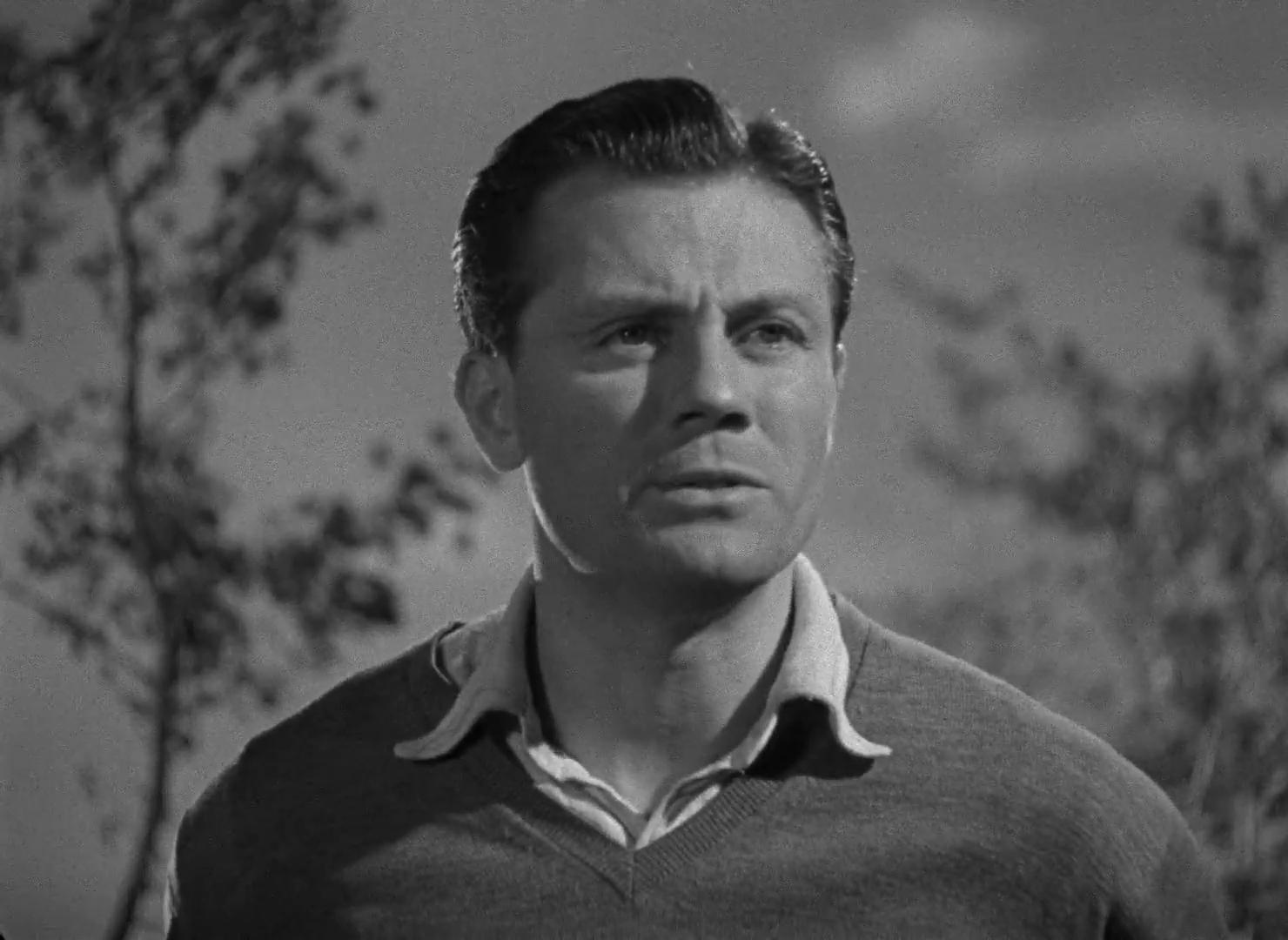 Pat Mc Grath dans le film The halfway house (L'auberge fantôme, 1944) de Basil Dearden