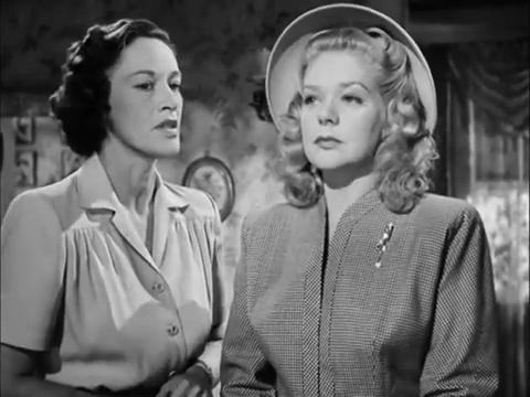 Anne Revere et Alice Faye dans Fallen angel (Crime passionnel, 1945) d'Otto Preminger
