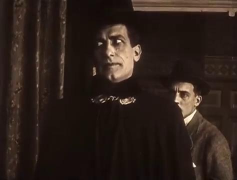 René Cresté dans Judex (1916) de Louis Feuillade