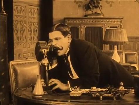 L'acteur Louis Leubas dans le film Judex (1916) de Louis Feuillade