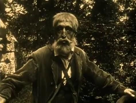 Gaston Michel dans le film muet Judex (1916) de Louis Feuillade