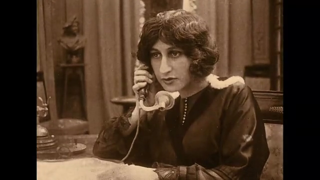 Josette Andriot dans le film muet Protéa (1913) de Victorin Jasset