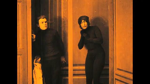 Lucien Bataille et Josette Andriot dans Protéa (1913) de Victorin Jasset
