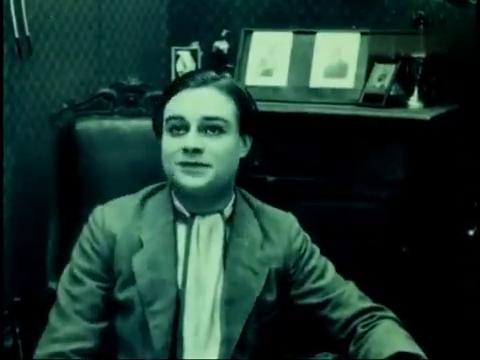 L'acteur Gobert dans le film patriotique belge La jeune Belgique (1922) d'Armand du Plessy