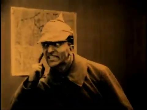 L'acteur Darenne dans le film muet belge La jeune Belgique (1922) d'Armand du Plessy