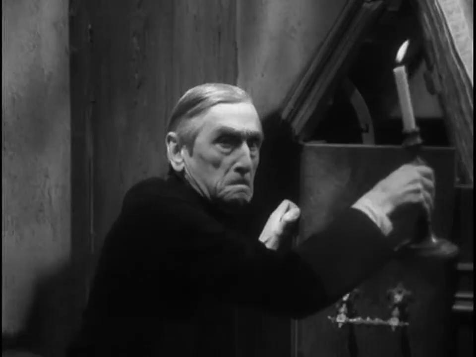 Maurice Schutz dans Fantômas (1932) de Paul Féjos
