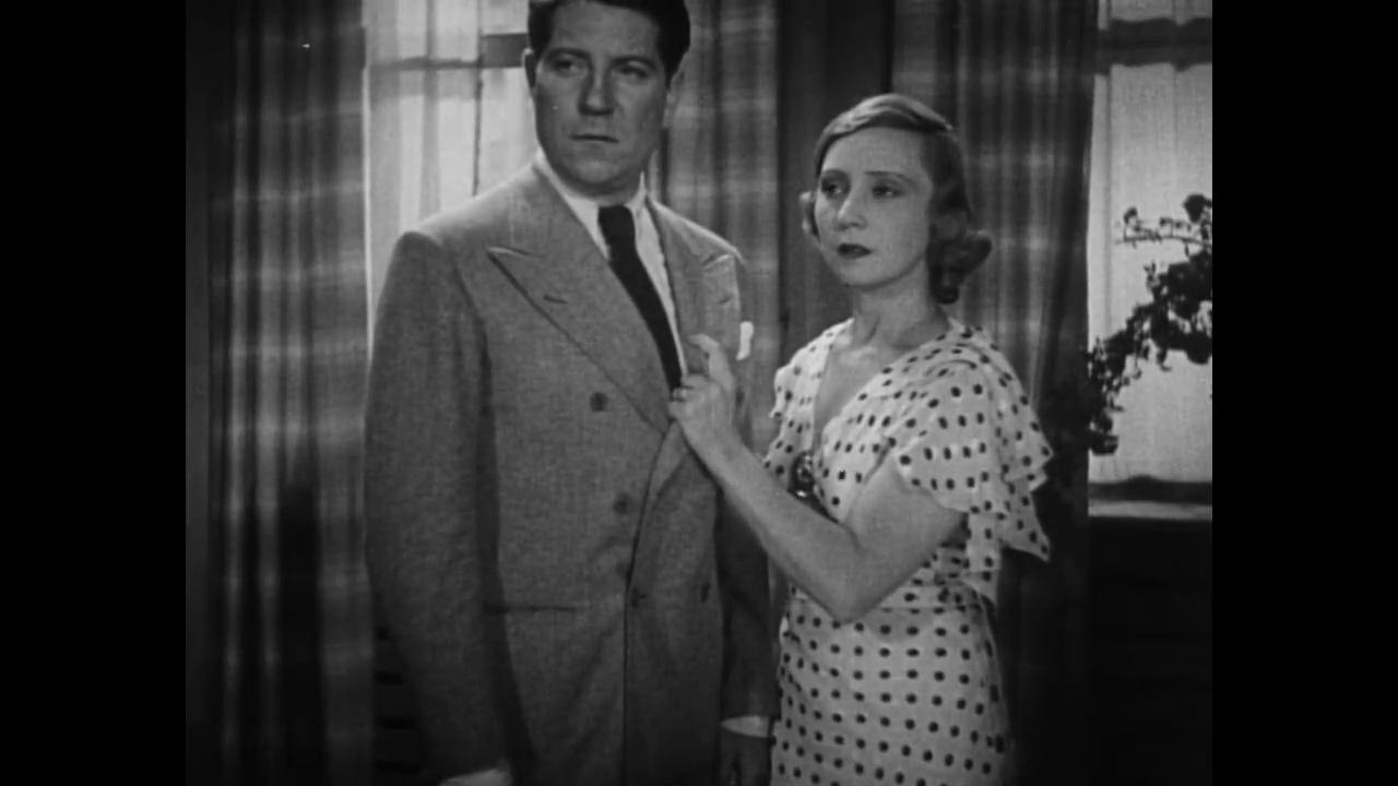 Jean Gabin et Madeleine Renaud dans Le tunnel (1933) de Kurt Bernhardt