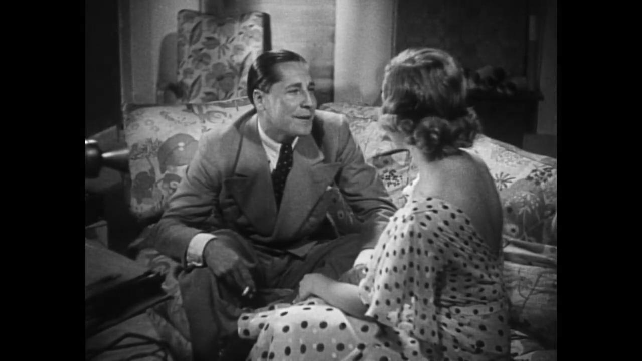 Madeleine Renaud et Pierre Nay dans Le tunnel (1933) de Kurt Bernhardt