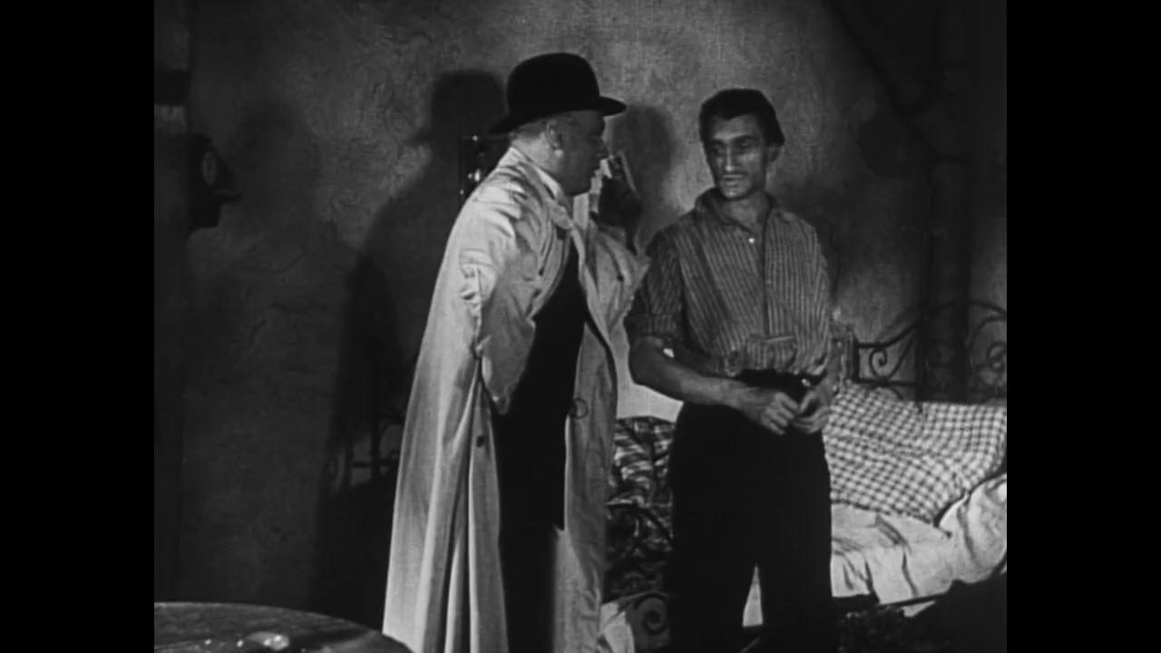 Gustaf Grundgens et Robert Le Vigan dans Le tunnel (1933) de Kurt Bernhardt