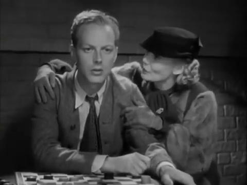Douglas Walton et Drue Leyton dans Charlie Chan in London (1934) d'Eugene Forde