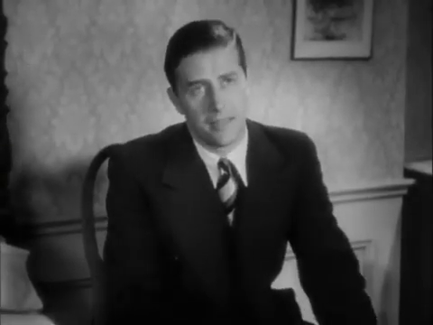Ray Milland dans le film américain Charlie Chan in London (1934) d'Eugene Forde