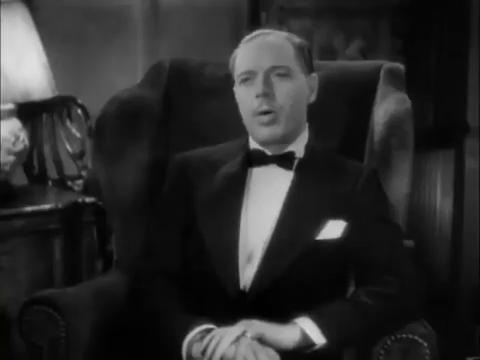 L'acteur George Barraud dans le film Charlie Chan in London (1934) d'Eugene Forde