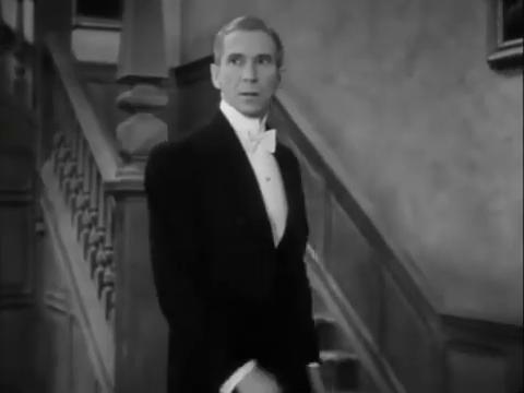 Murray Kinnell dans le film policier américain Charlie Chan in London (1934) d'Eugene Forde