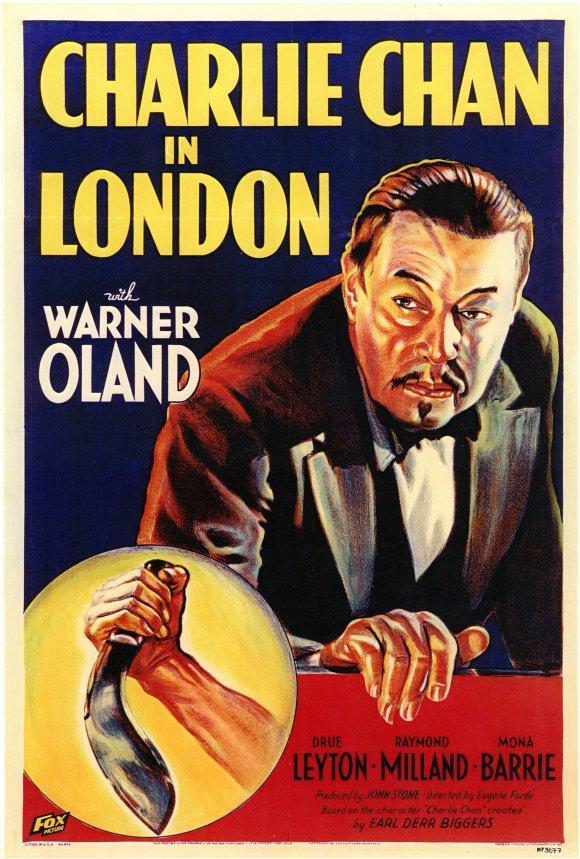 Affiche du film Charlie Chan in London (1934) d'Eugene Forde