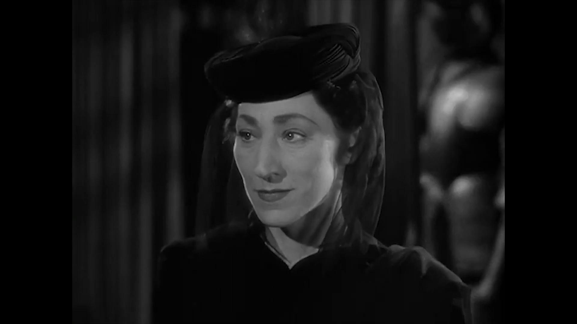 Hilda Vaughn dans le film policier américain Charlie Chan at the Wax museum (1940) de Lynn Shores