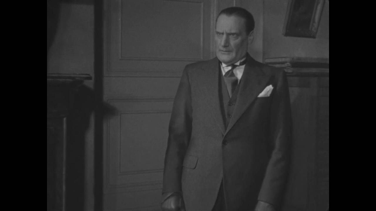 Saturnin Fabre dans le film Le roman d'un jeune homme pauvre (1935) d'Abel Gance