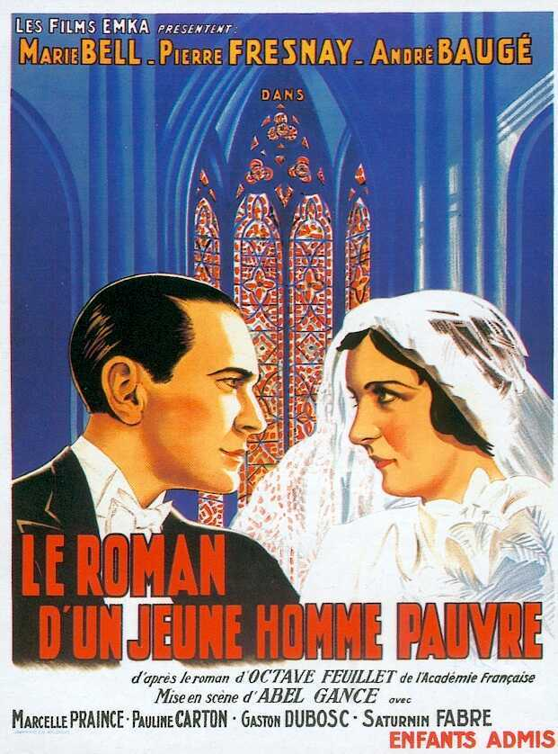Affiche du film Le roman d'un jeune homme pauvre (1935) d'Abel Gance