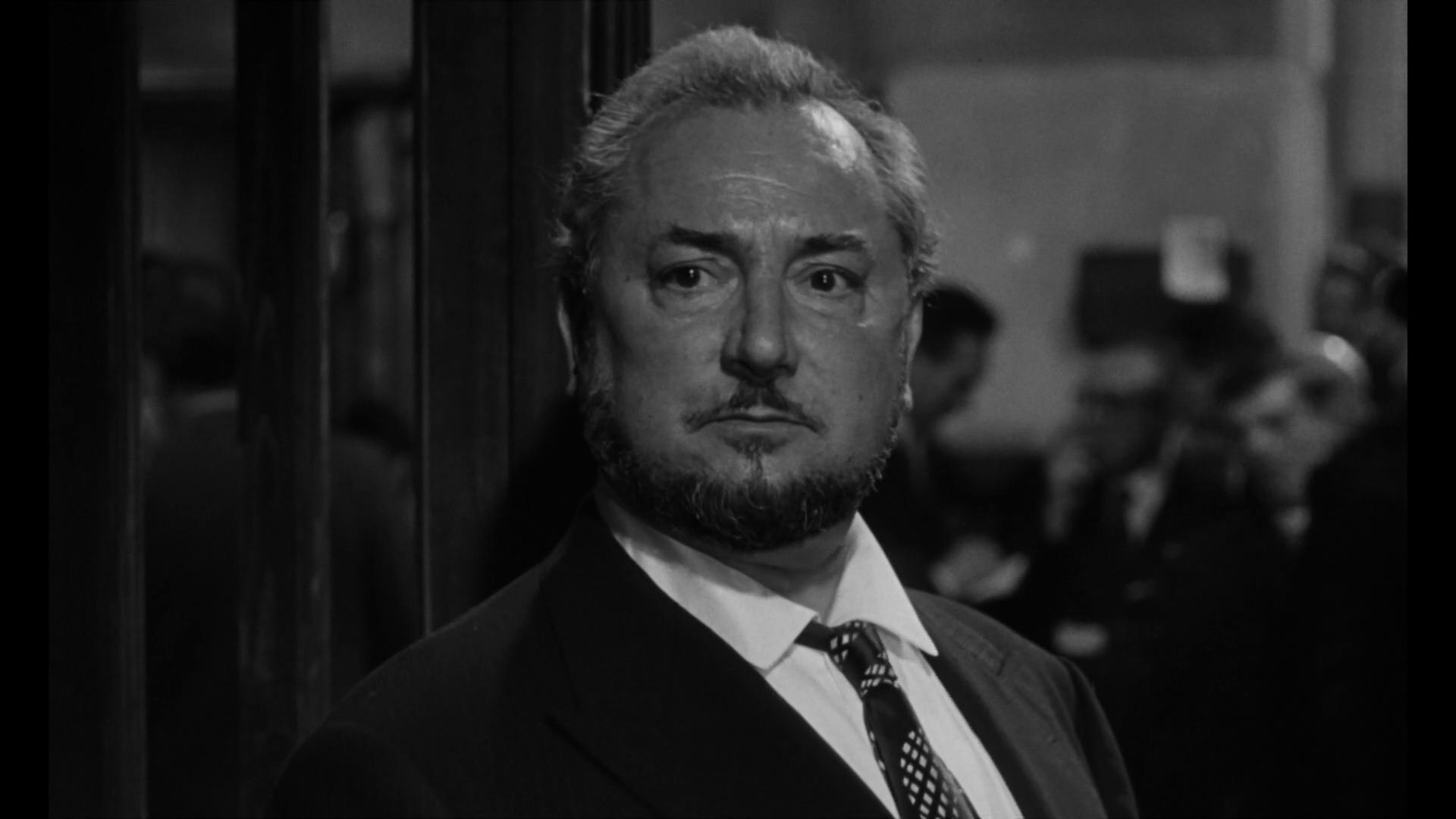 Pierre Brasseur dans Les grandes familles (1958) de Denys de la Patellière