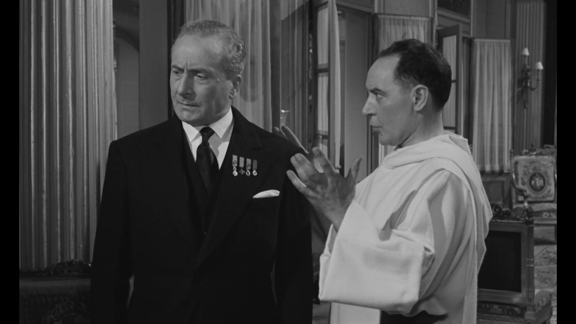 Jean Ozenne et Julien Bertheau dans Les grandes familles (1958) de Denys de la Patellière