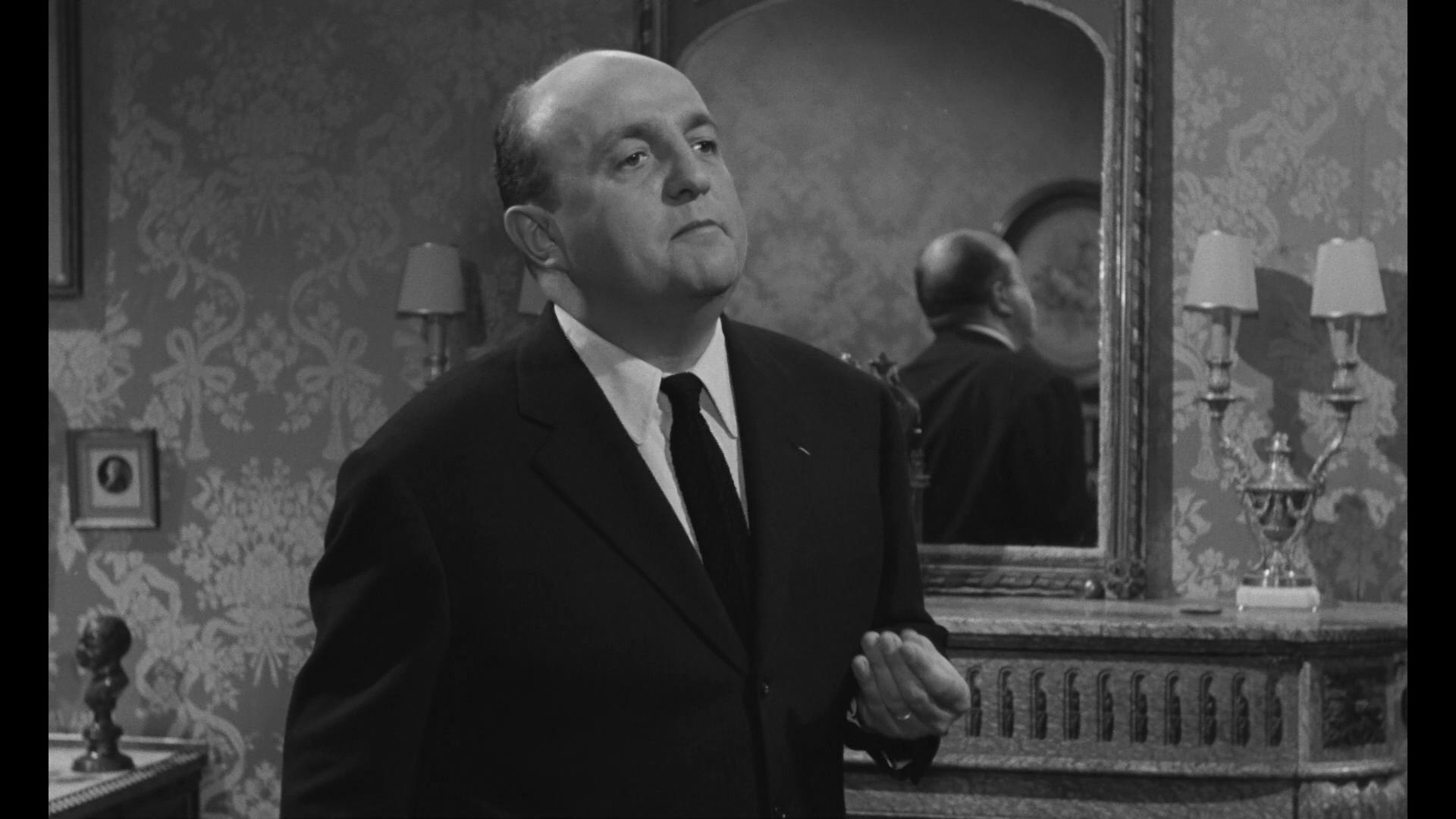 Bernard Blier dans Les grandes familles (1958) de Denys de la Patellière