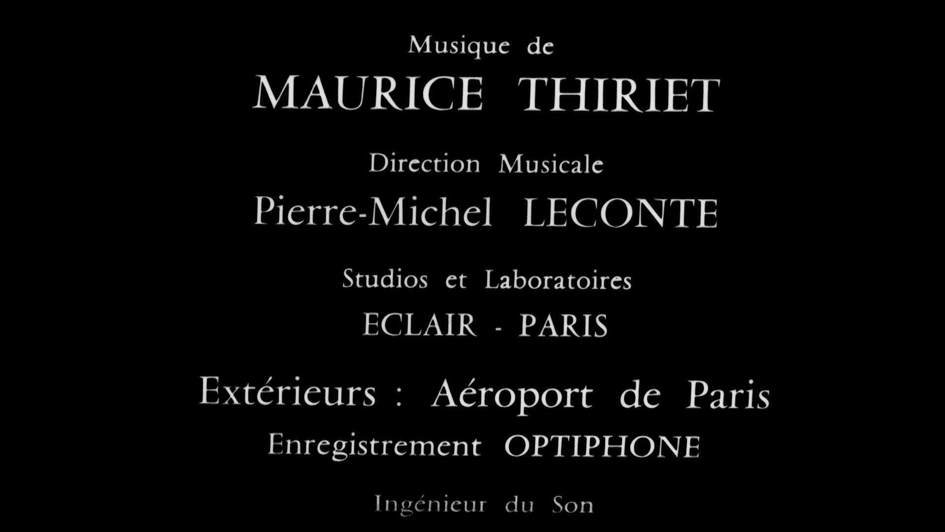 Générique du film Les grandes familles (1958) de Denys de la Patellière