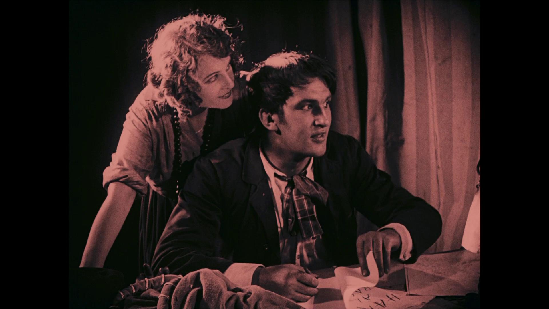 Wilhelm Dieterle dans le film muet Das Wachsfigurenkabinett (Le cabinet des figures de cire, 1924) de Paul Leni