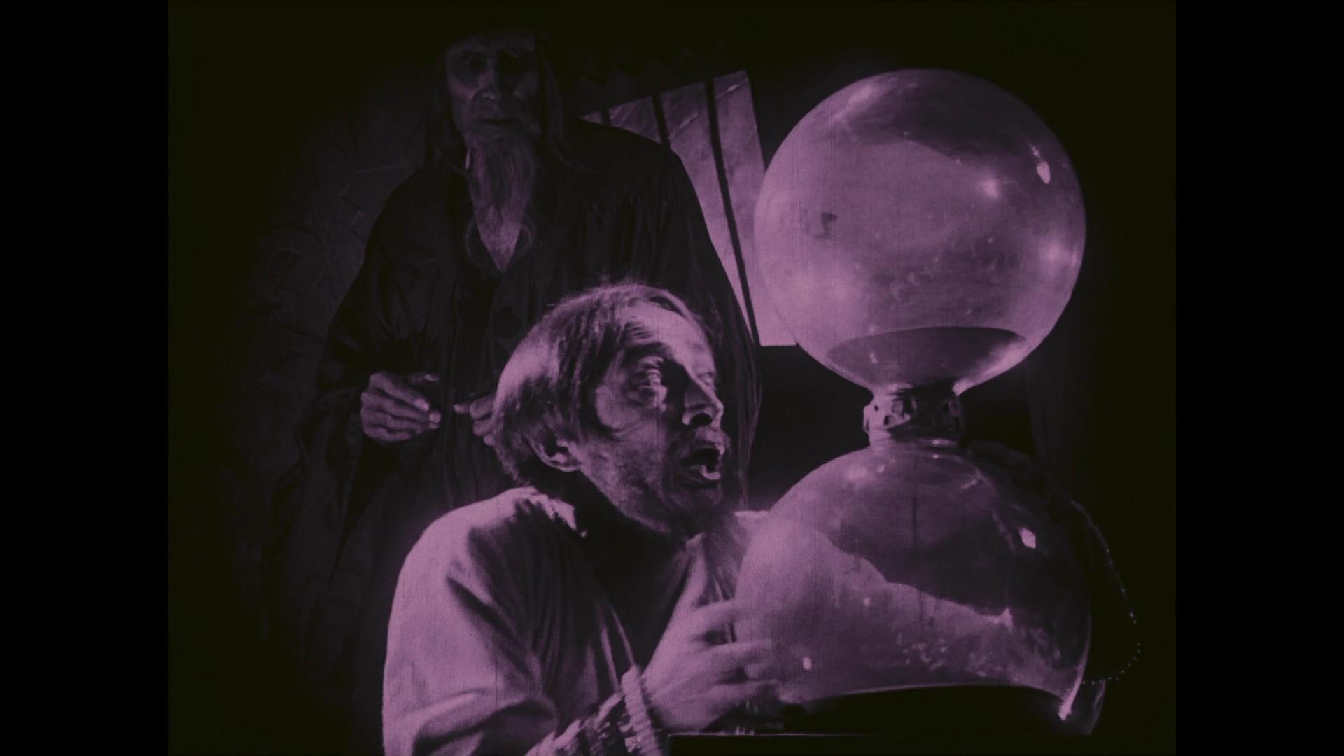 Conrad Veidt dans le film muet allemand Das Wachsfigurenkabinett (Le cabinet des figures de cire, 1924) de Paul Leni