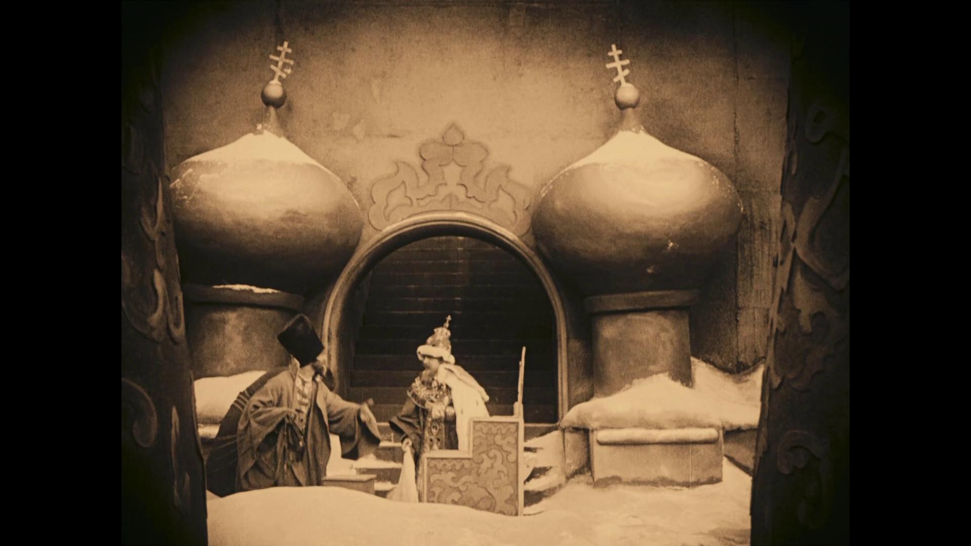 Image du film muet allemand Das Wachsfigurenkabinett (Le cabinet des figures de cire, 1924) de Paul Leni